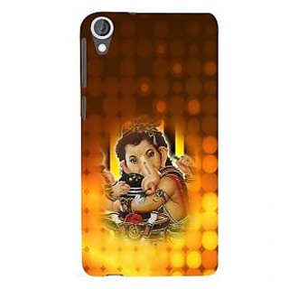 ifasho Lord Ganesha with linga Back Case Cover for HTC Desire 820