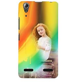 ifasho Girl playing Back Case Cover for Lenovo A6000