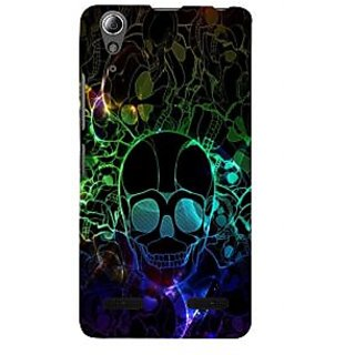 ifasho Modern  Design animated skeleton Back Case Cover for Lenovo A6000