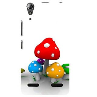 ifasho Mushrooms cartoon Back Case Cover for Lenovo A6000