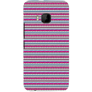 ifasho Animated Pattern colrful 3Daditional design Back Case Cover for HTC One M9