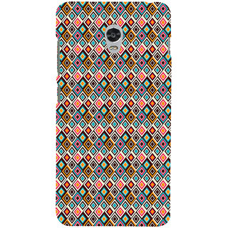 ifasho Animated Pattern colrful rajasthani design Back Case Cover for Lenovo Vibe P1