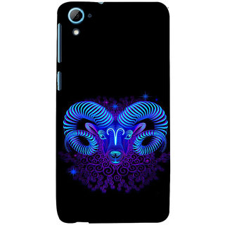 ifasho zodiac sign capricorn Back Case Cover for HTC Desire 826
