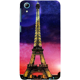 ifasho Effile Tower Back Case Cover for HTC Desire 826