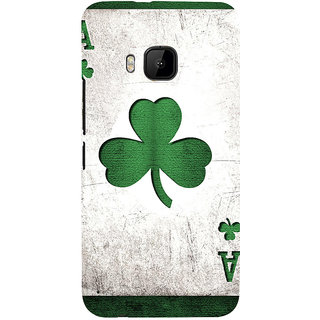 ifasho Cardiogram in Lines of heart Back Case Cover for HTC One M9