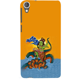 ifasho krishna Dancing on kalia serpant Back Case Cover for HTC Desire 820