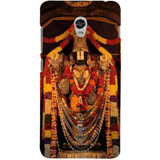 ifasho Tirupati Balaji Back Case Cover for Lenovo Vibe P1