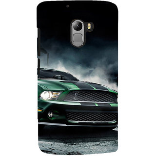 ifasho Royal  Running Car in wind Back Case Cover for Lenovo K4 Note