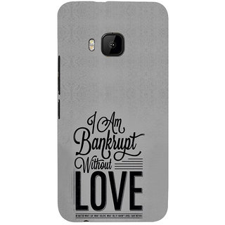 ifasho Love Quotes Back Case Cover for HTC One M9