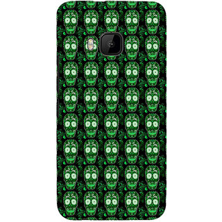 ifasho Modern  Design animated skeleton Pattern Back Case Cover for HTC One M9