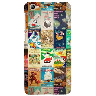 ifasho Animated Pattern colourful hollywood film posters  Back Case Cover for LeTV 1S