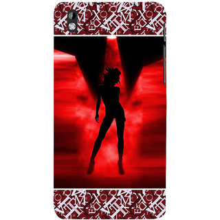 ifasho Girl dancing Back Case Cover for HTC Desire 816