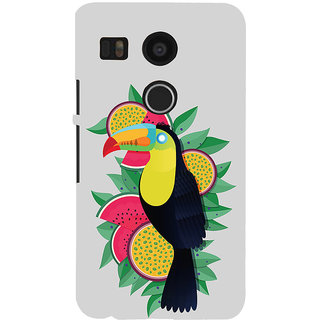 ifasho wood peacker Bird sitting animated design Back Case Cover for Google Nexus 5X