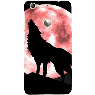 ifasho Animation of wolf howling Back Case Cover for LeTV 1S