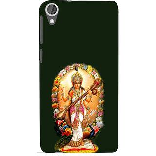 ifasho Goddess Saraswati  Back Case Cover for HTC Desire 820