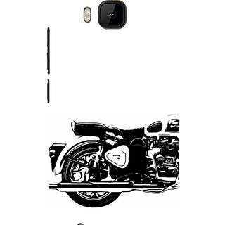 ifasho Royal Bike Back Case Cover for HTC One M9
