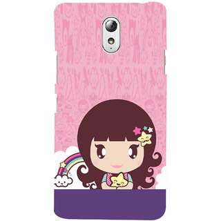 ifasho Cute Baby Back Case Cover for Lenovo Vibe P1M