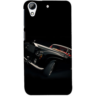 ifasho Vintage Car Back Case Cover for HTC Desire 626