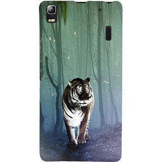 ifasho Animated Pattern With Tiger Back Case Cover for Lenovo A7000