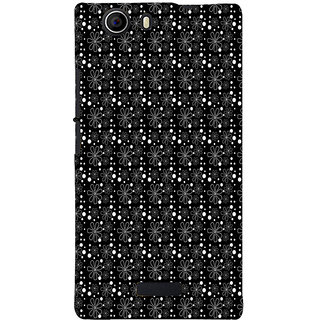 ifasho Animated Pattern Littel Flowers Back Case Cover for Micromax Canvas Nitro 2 E311