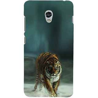 ifasho Leopard resting Back Case Cover for Lenovo Vibe P1