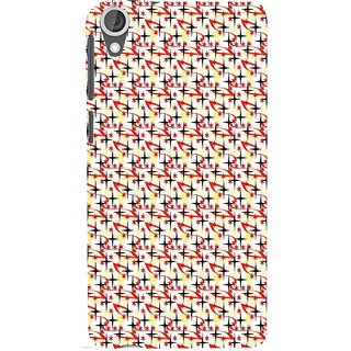ifasho Animated Pattern colourful littel stars Back Case Cover for HTC Desire 820