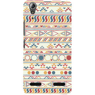 ifasho Animated Pattern colrful 3Dibal design Back Case Cover for Lenovo A6000 Plus