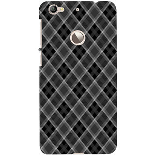 ifasho Design lines pattern and square pattern Back Case Cover for LeTV 1S