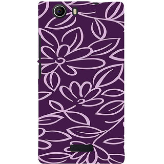 ifasho Animated Pattern colrful 3Daditional design cloth pattern Back Case Cover for Micromax Canvas Nitro 2 E311