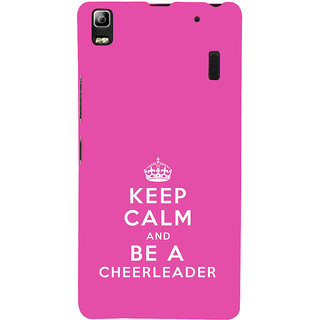 ifasho Nice Quote On Keep Calm Back Case Cover for Lenovo A7000