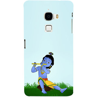 ifasho Lord Krishna with Flute Back Case Cover for Le TV Max