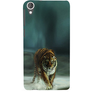 ifasho Leopard resting Back Case Cover for HTC Desire 820