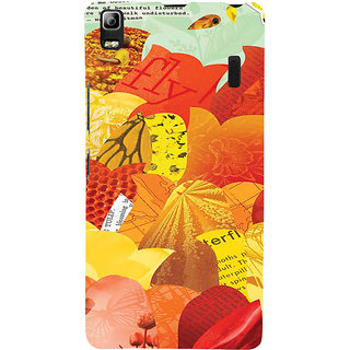 ifasho Animated Pattern colrful paper cuttings Back Case Cover for Lenovo A7000