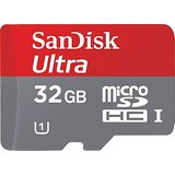 Sandisk Ultra MicroSDHC UHS-I 32GB Class 10 Memory Card