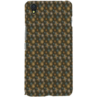 ifasho Animated Pattern design many small flowers  Back Case Cover for One Plus X