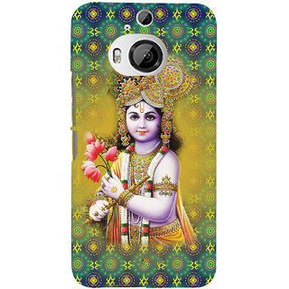 ifasho Lord Krishna in bal avtar Back Case Cover for HTC ONE M9 Plus