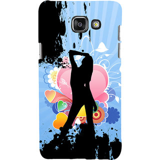 ifasho model cat walk Back Case Cover for Samsung Galaxy A5 A510 (2016 Edition)