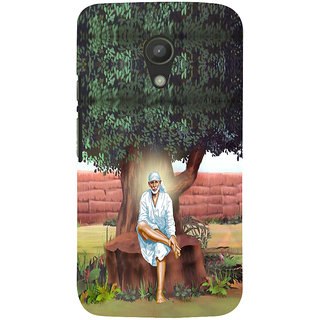 ifasho Shirdi wale Sai Baba Back Case Cover for Moto G2