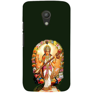 ifasho Goddess Saraswati  Back Case Cover for Moto G2