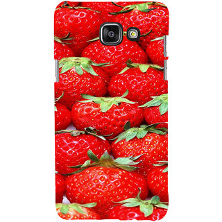 ifasho Modern  Design Pattern S3Dwberry wall paper Back Case Cover for Samsung Galaxy A5 A510 (2016 Edition)