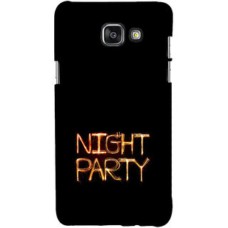 ifasho Night party Back Case Cover for Samsung Galaxy A7 A710 (2016 Edition)
