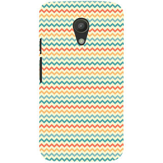 ifasho Animated Pattern of Chevron Arrows  Back Case Cover for Moto G2