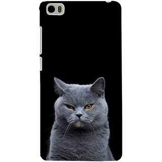ifasho black Cat Back Case Cover for Redmi Mi5