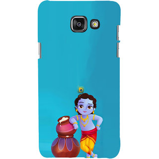 ifasho Lord Krishna stealing curd animated Back Case Cover for Samsung Galaxy A5 A510 (2016 Edition)