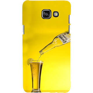 ifasho Beer Back Case Cover for Samsung Galaxy A5 A510 (2016 Edition)