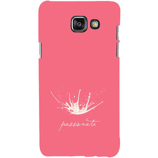 ifasho Passinate Quote Back Case Cover for Samsung Galaxy A5 A510 (2016 Edition)