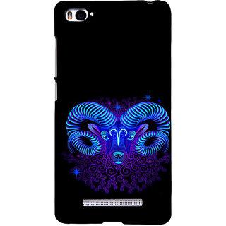 ifasho zodiac sign capricorn Back Case Cover for Redmi Mi4i