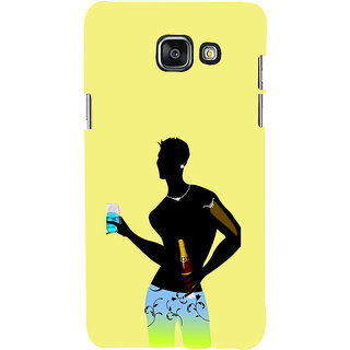 ifasho Designer boy Back Case Cover for Samsung Galaxy A7 A710 (2016 Edition)