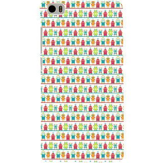 ifasho Modern Art Design Pattern Lot Doll and postbox  Back Case Cover for Redmi Mi5