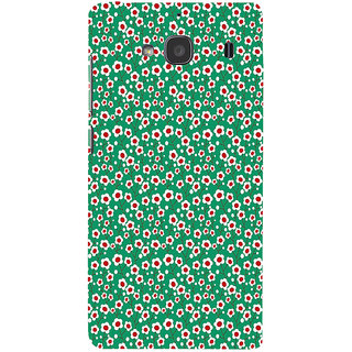 ifasho Pattern green white and red animated flower design Back Case Cover for Redmi 2S